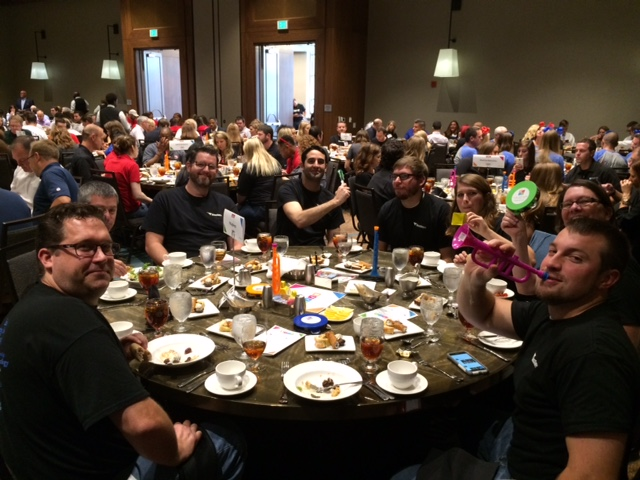 WingSwept team seated at Best Places to Work