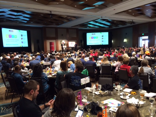 Full crowd view of TBJ's 2016 Best Places to Work