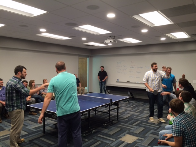 WingSwept Office Olympics - Ping Pong