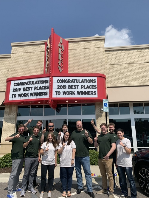 WingSwept at 2019 Best Places to Work