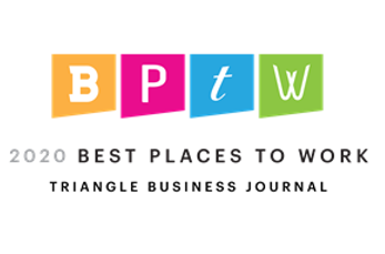 TBJ Best Places to Work 2020 logo